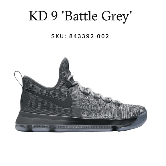 ab86a8146d9 ... coupon code nike kd 9 mens sneakers in battle gray used 7dd04 52569